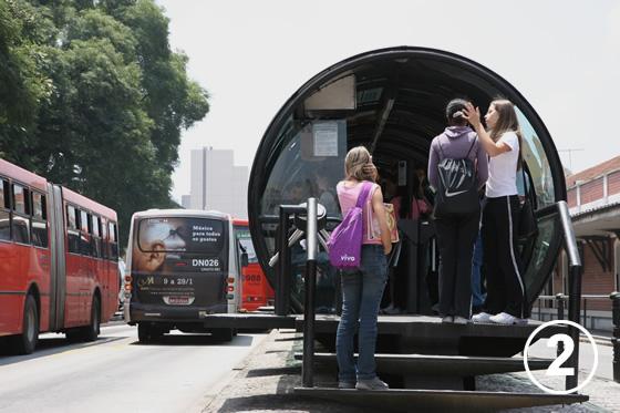 166 クリチバのバス・システム