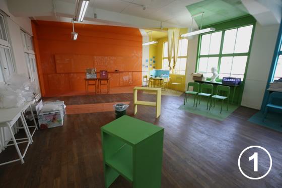 大正中央中学校のリノベーション1