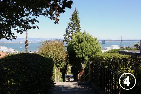 198 フィルバート通りの階段
