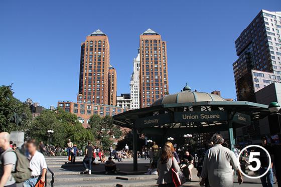 ユニオン・スクエア(ニューヨーク)とBID5