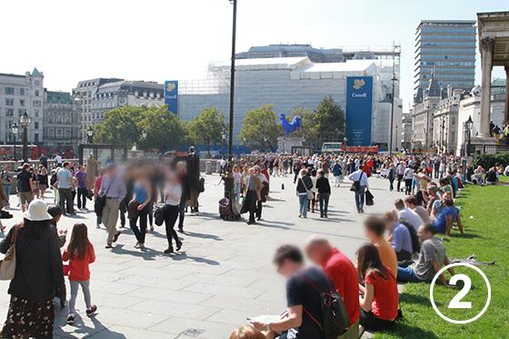 212 トラファルガー広場の歩行者空間化事業