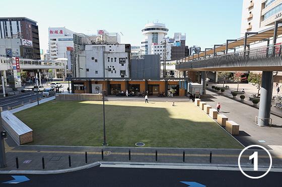 223 豊田市駅東口まちなか広場(とよしば)