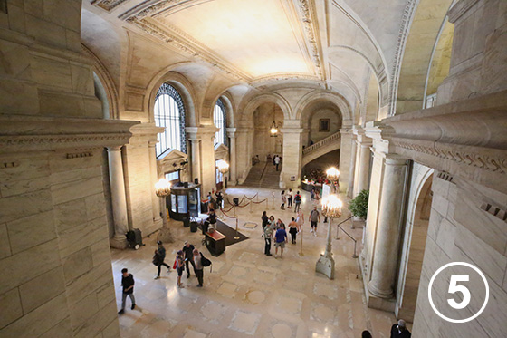 225 ニューヨーク公共図書館本館